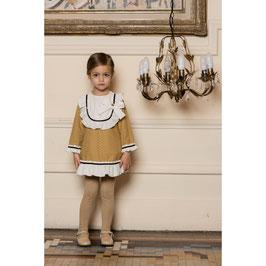 Vestido niña Ocre Dolce Petit