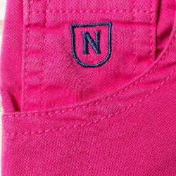 711-04-Pantalón corto chino de niño color fuxia Nachete