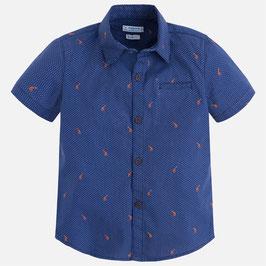03146-060 Camisa estampada de manga corta para niño mayoral