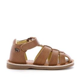 41.544 035 Sandalia piel color marrón Mayoral