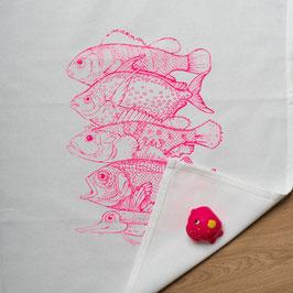 """Geschirrtuch """"Neon Fische"""""""