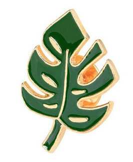 Pin - Monstera Blatt