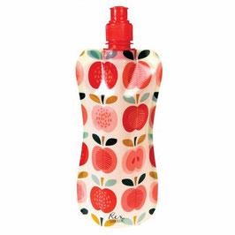 """Faltbare Wasserflasche """"Apfel"""""""