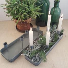 Advents-Schale für 4 Kerzen