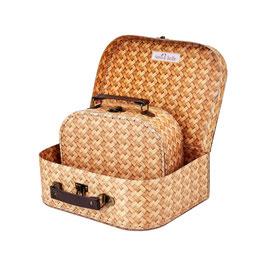 Kinder-Koffer Rattan