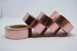 Masking-Tape, rosé metallic