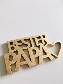 """3D-Holzletter """"Mama & Papa"""""""