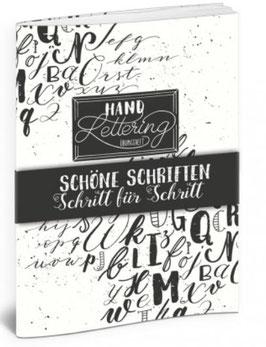 Handlettering Übungsheft- von Katja Haas