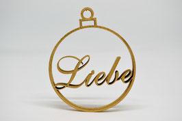 """No Gallery - Weihnachtskugel """"Liebe"""""""