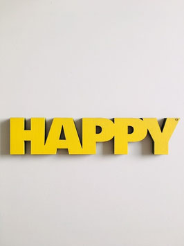 "3D-Holzletter ""Happy"""