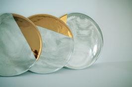 """Keramik-Untersetzer """"Golden Marble"""""""