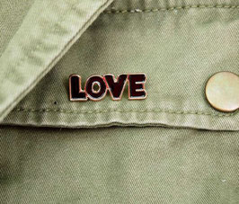 Pin LOVE oder BIKE
