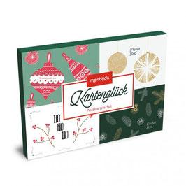 MONBIJOU - Kartenset Weihnachten