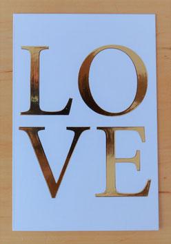 """Postkarte """"LOVE"""""""