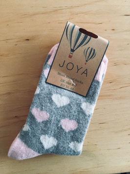 """Gemütliche Socken """"Herzchen"""""""