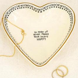 Herz-Keramikschale