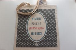 """Tote bag """"Lundi"""" - Dodo & Cath"""