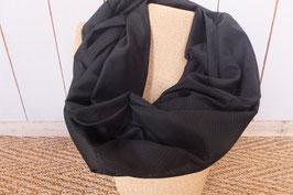 Snood Noir GM - L'Atelier