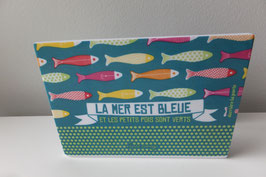 """Porte-éponge """"La Mer est Bleue"""" - DLP"""