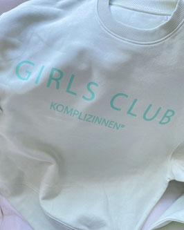 GIRLS CLUB SWEATER LIGHT GREEN