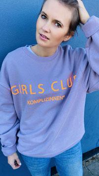 GIRLS CLUB SWEATER FLIEDER