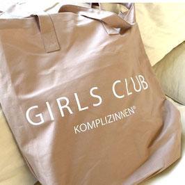 GIRLS CLUB SHOPPER XL beige