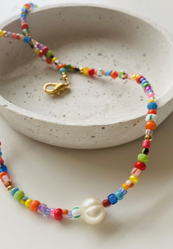 NECKLACE CANDY RAINBOW