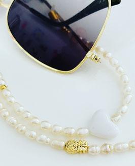 Brillenkette WHITE LOVE