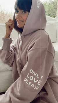 ONLY LOVE PLEASE HOODIE