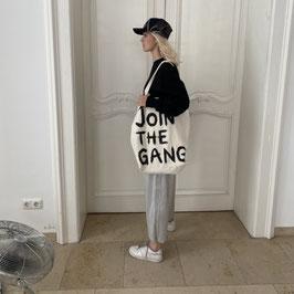 JOIN THE GANG SHOPPER XL