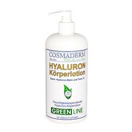 Sondergrößenangebot: Hyaluron-Körperlotion, Spenderpumpe, 500 ml