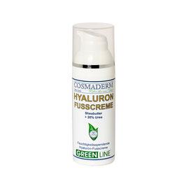 Hyaluron-Fußcreme, Airless-Dispenser, 50 ml