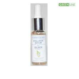 Hyaluron-Serum Silber, Glaspipette, 15 ml
