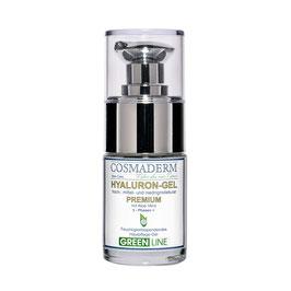 Hyaluron-Gel Premium, Glaspumpspender, 15 ml