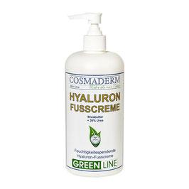 Sondergrößenangebot: Hyaluron-Fußcreme, Spenderpumpe, 500 ml