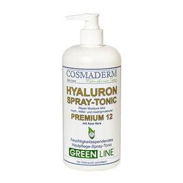 Sondergrößenangebot: Hyaluron Spray-Tonic 12, Spenderpumpe, 500 ml