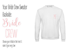 SO I ME. COLLECTION BRIDE CREW Sweater
