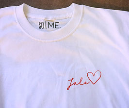 SO I ME. Collection Your Lettering Shirt
