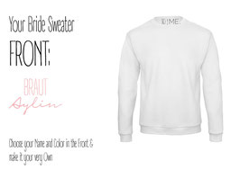 SO I ME. COLLECTION Your BRIDE Sweater