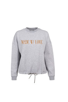 SO I ME. COLLECTION MADE W/ LOVE SWEATER