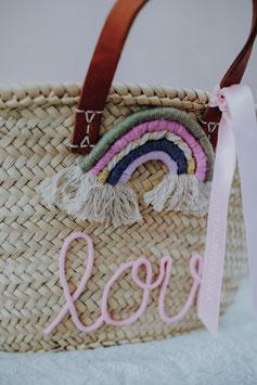 Rainbow Midi Basket - Personalized