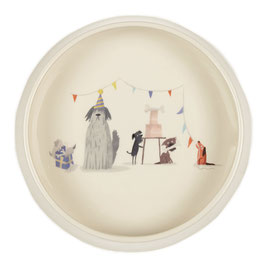 Party Dog Tales Round Dog Bowl - Napf