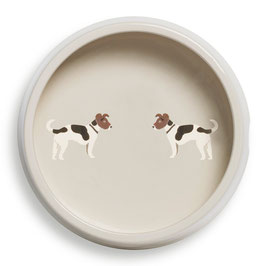 Jack Russell Round Dog Bowl - Napf