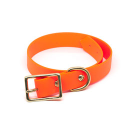 Halsband Biothane - Orange