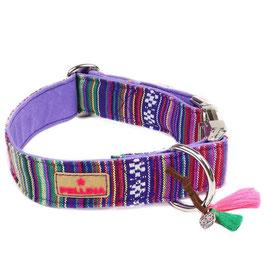 Halsband Gypsy Boho Purple