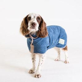 Hunde-Bademantel Sandringham Blue