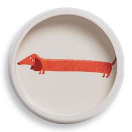 Dachshund Round Dog Bowl - Napf