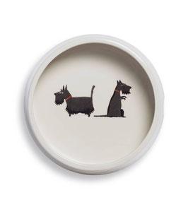 Scottie Round Dog Bowl - Napf