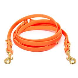 Biothane Leine orange