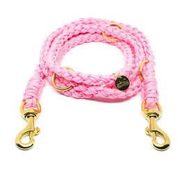 Leine Paracord - rosa
